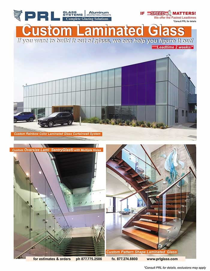 Shop PRL's Oversized & Custom Laminated Glass. Bid with Us & See What We Can Do!