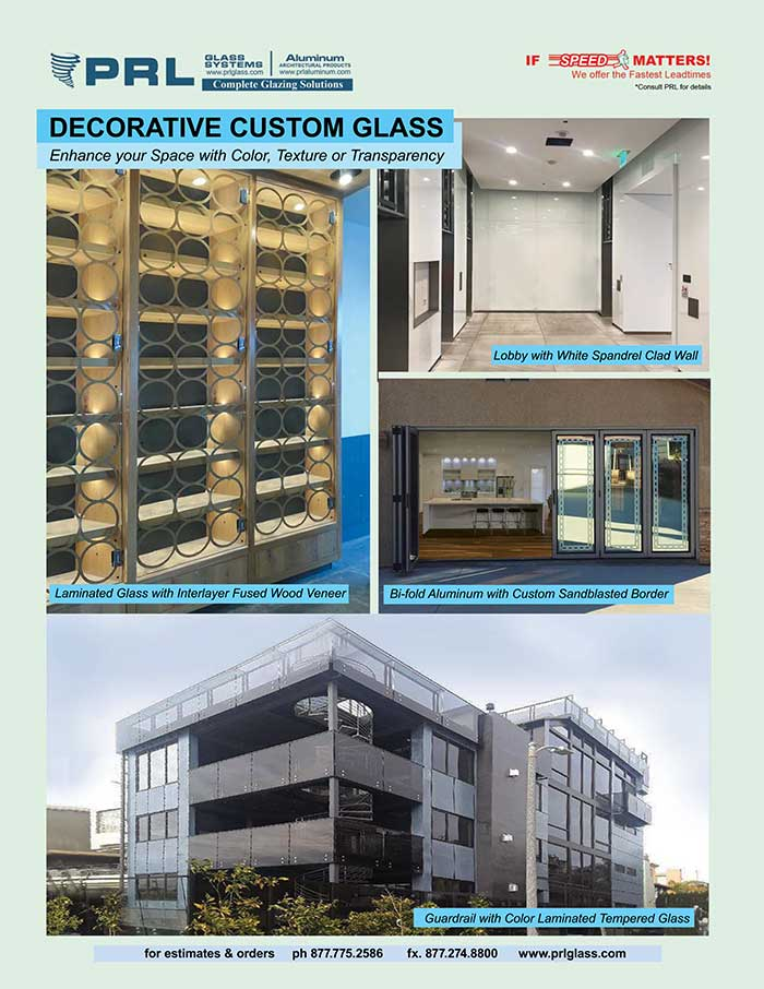Decorative Glass Types. Turn the Ordinary into the Extraordinary at PRL!