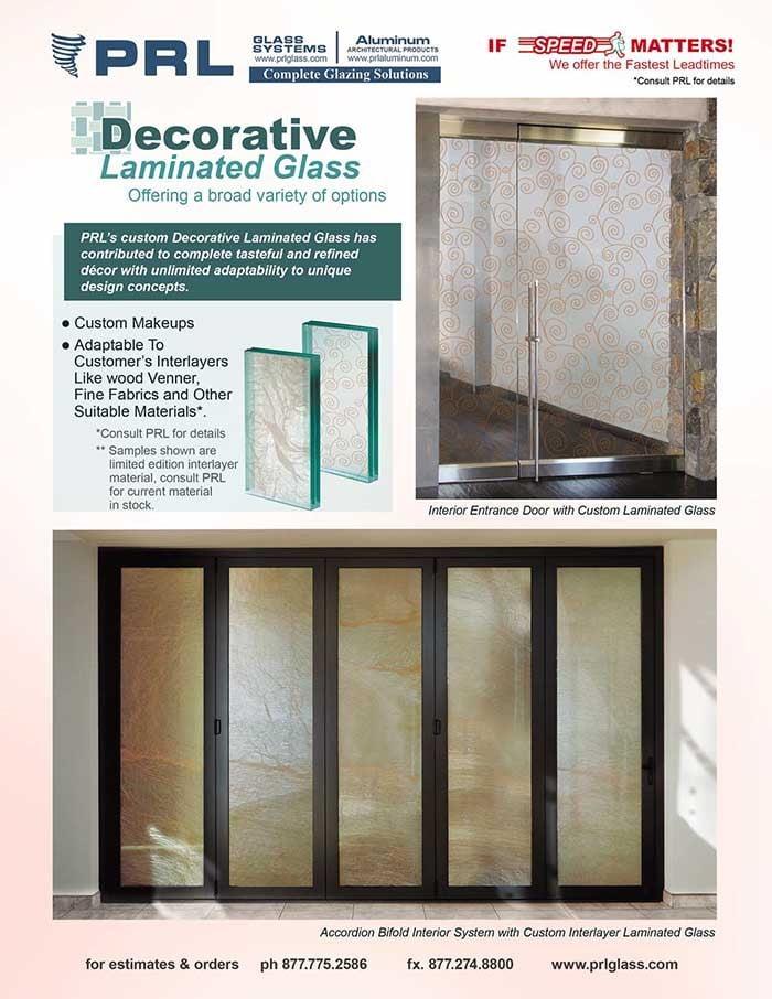 Decorative Laminated Glass