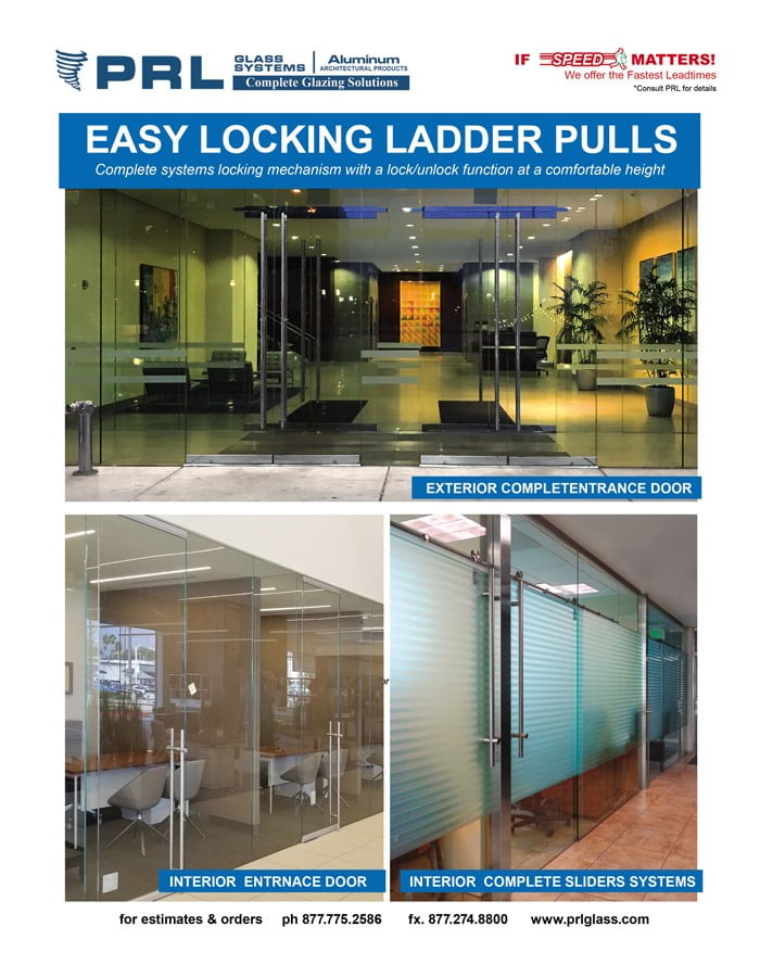 Easy Locking Ladder Pulls – Check Out PRL's Popular Entry Door Hardware!
