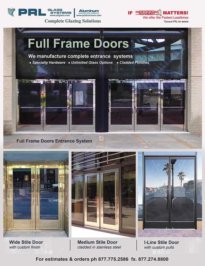 Elegant Full Framed Clad Doors