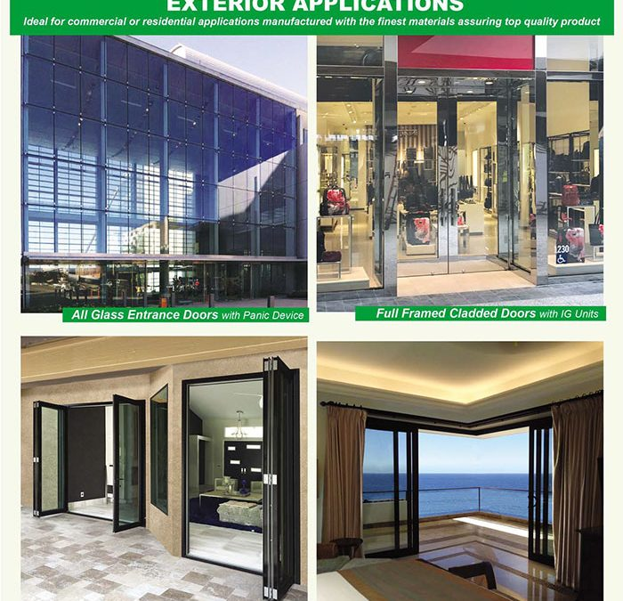 PRL's Exterior Glass Door Applications