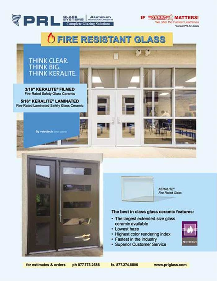 Fire Resistant Glass. You Can't Stay Protected Without It.