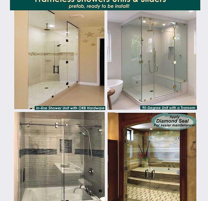 Frameless Shower Units & Sliders