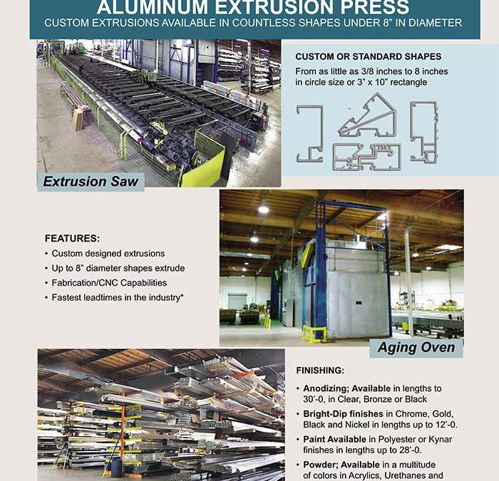 Architectural Metal Aluminum Extrusions Custom Metal