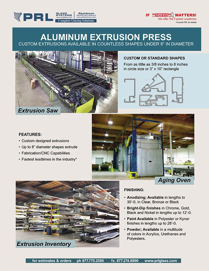 Get Custom Aluminum Extrusions at PRL!