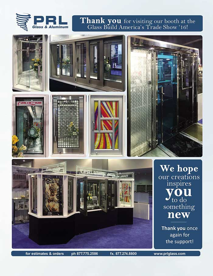 Glass Build America 2016, Thank You!