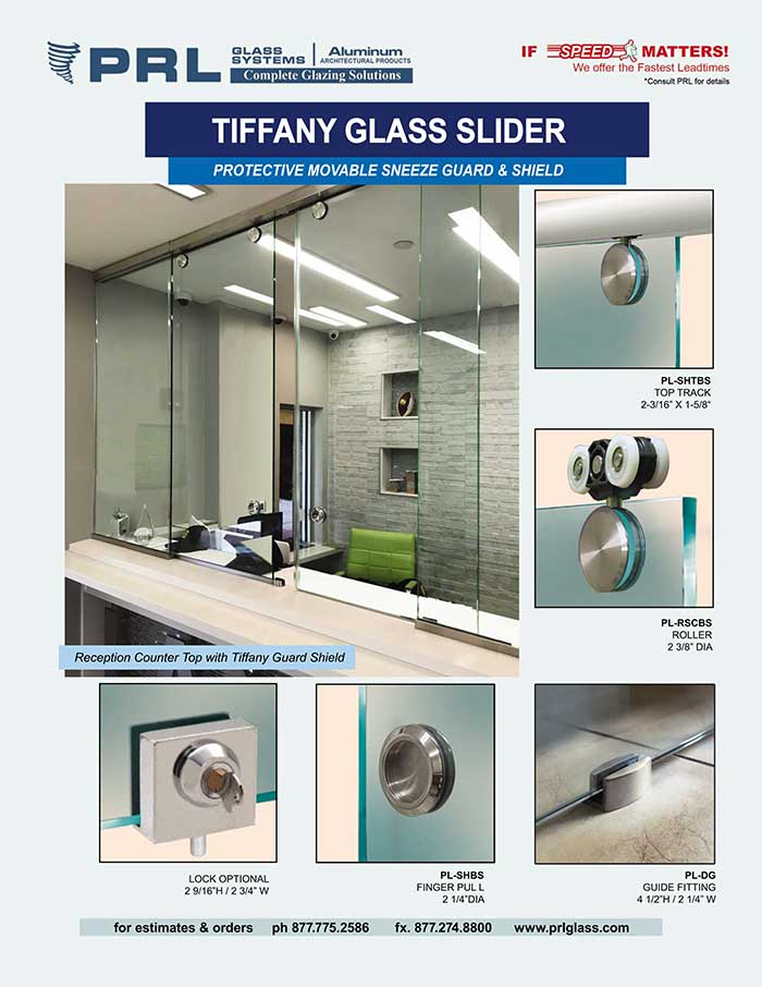 glass slider