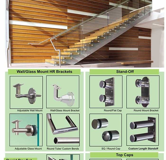 Make Your Handrail & Guardrail Components Count