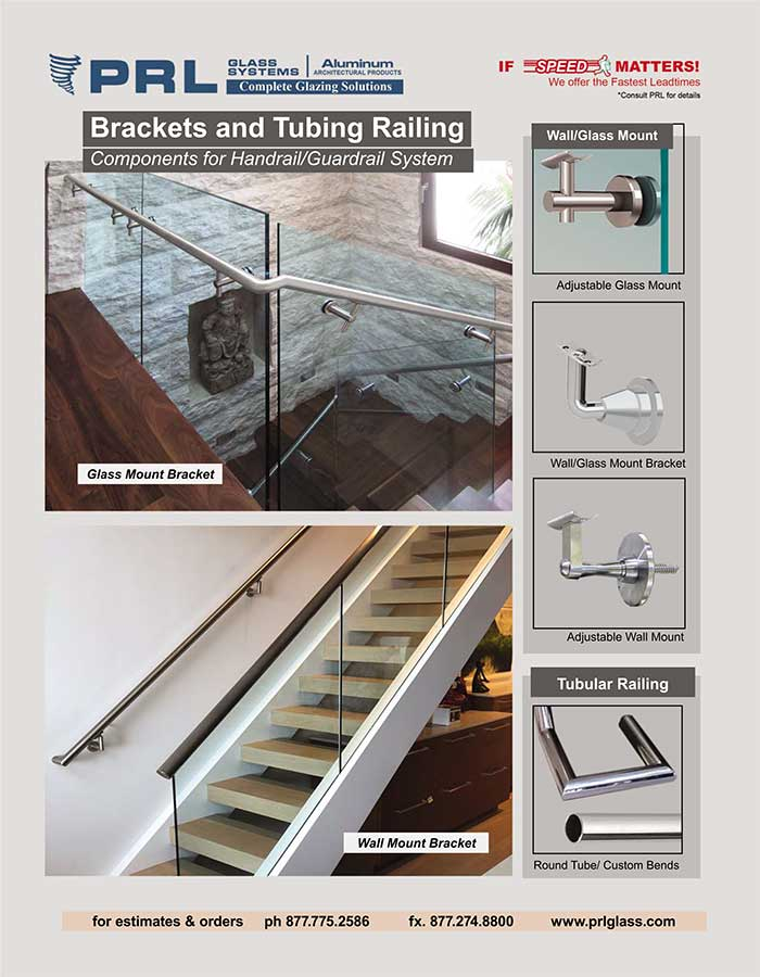 Handrail and Guardrail Brackets and Tubular Railing. Experience the Benefits