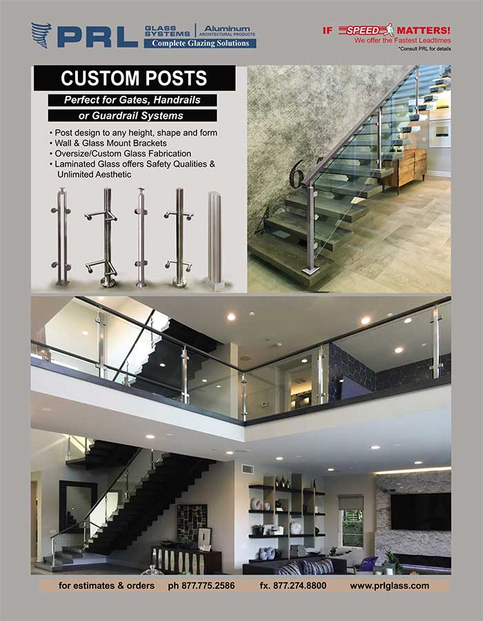 PRL's Handrail and Guardrail Posts. Vast Customizations for Vast Railing Systems