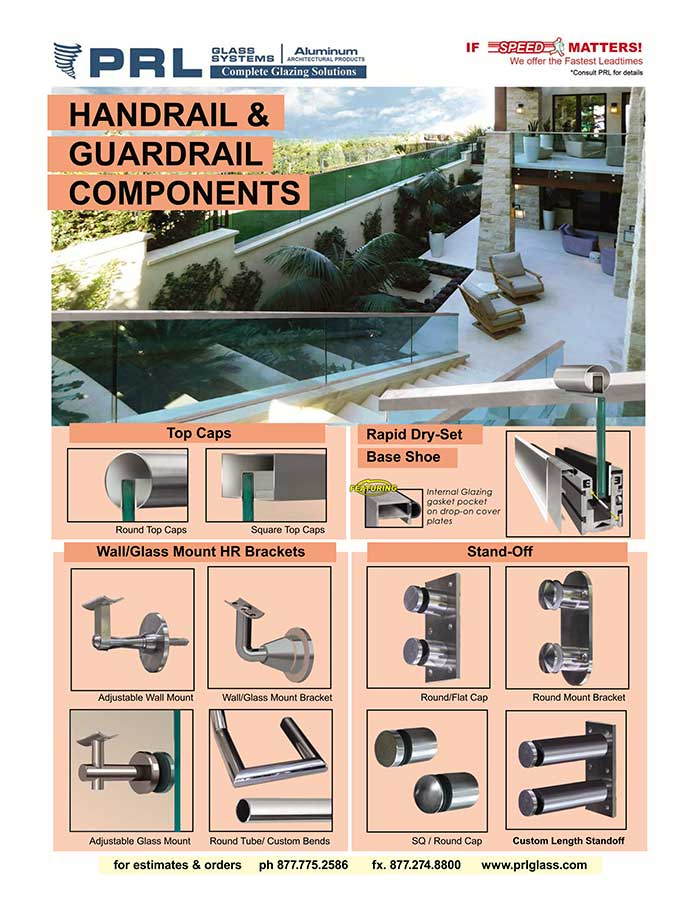 PRL Offers a Wide Selection of Handrail Components