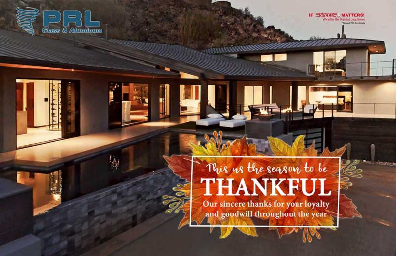 Happy Thanksgiving from PRL