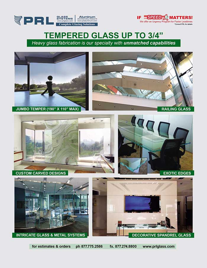 Heavy Tempered Glass Specialists in Southern California