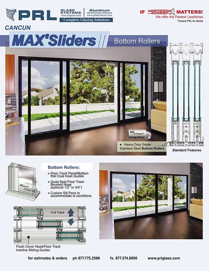 High Quality Exterior Doors Jefferson Door: High Quality Aluminum Sliding Door Systems By PRL Glass