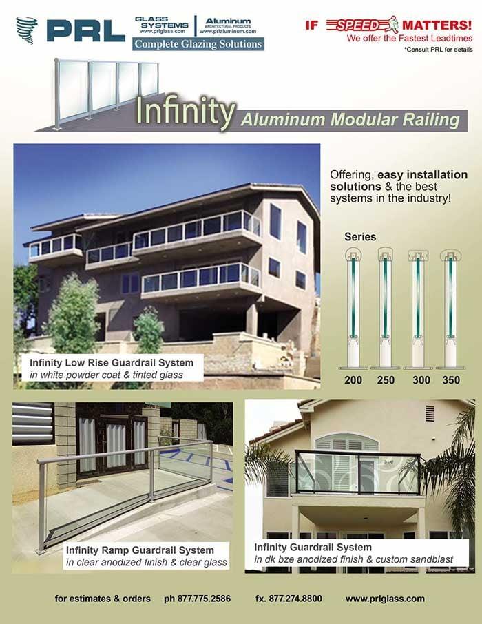 PRL's Infinity Glass Guardrail System