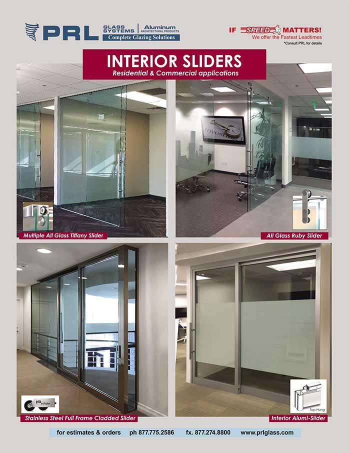 For Interior Sliding Door Systems that beautify and maximize space, look no further than PRL!