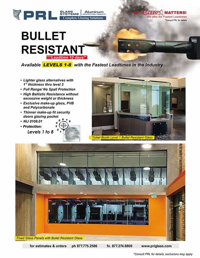 Buy Laminated Bullet Resistant Glass at PRL. Sizes, Colors & Types Galore!