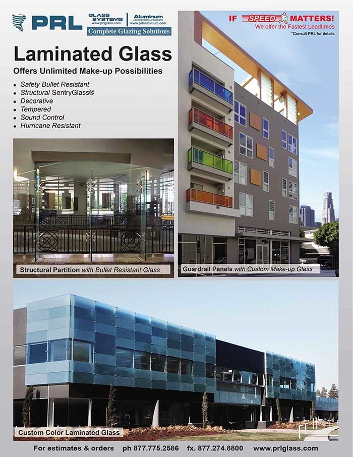 Laminated Glass End Less Possibilities