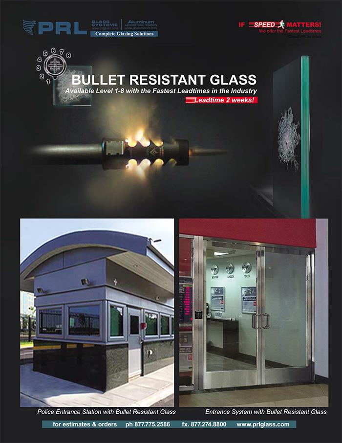 Laminated Security Glass | Bullet Resistant Glass up to Level 8 Ammunitions