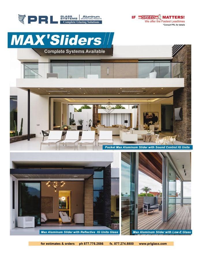 Shop PRL's Max Aluminum Sliders. Energy Efficient Exterior Doors in Vast Configurations!