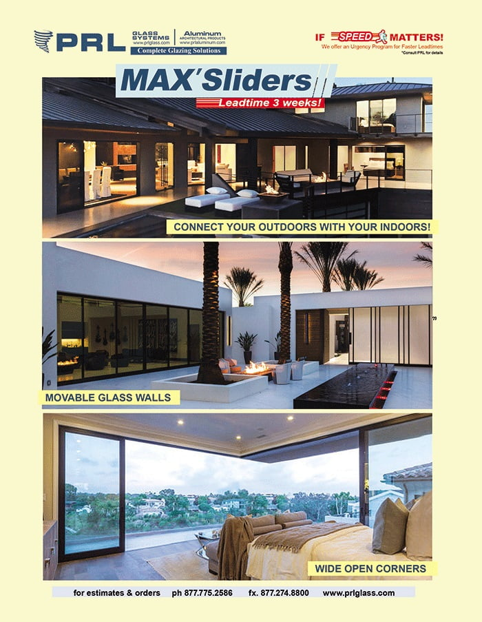 Order Max Aluminum Sliding Doors. Get Benefits with PRL's Top Hung & Bottom Roller Systems!