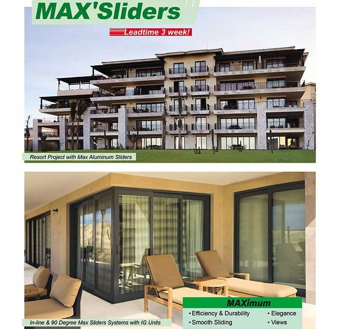 Bring The Outdoors In with PRL's Max Sliding Glass Doors