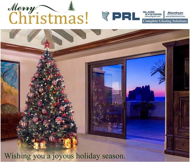 Holiday Greeting from PRL Glass and Aluminum