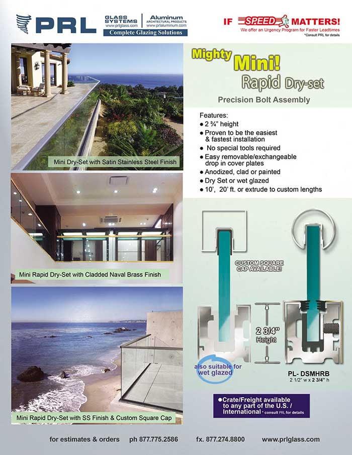 2-3/4″ Mini Rapid-Set Hand Rail Base