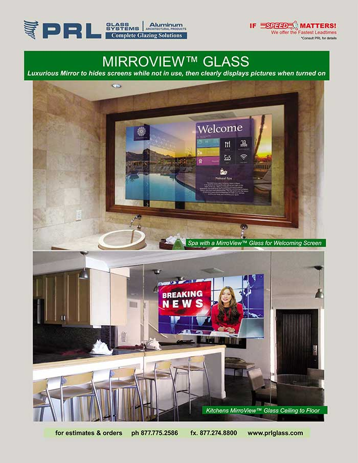 Get MirroView™ Glass at PRL. Turn TV Screens into Stylish Mirrors! See How It Works!