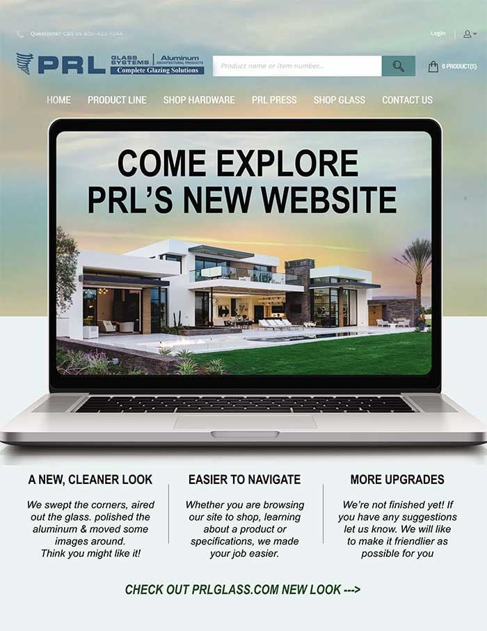 PRL Did What?! Check Out Our New Website! Redesigned with You in Mind!