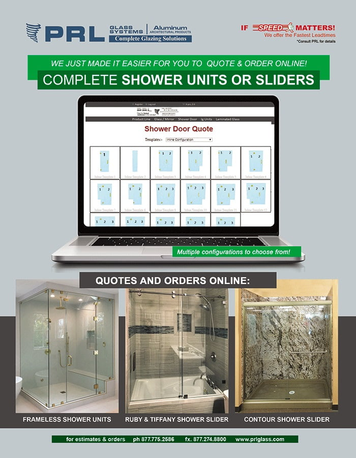 order frameless shower door sliders online