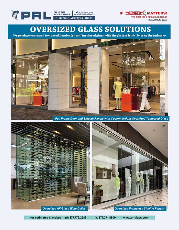 Oversized Glass Capabilities. PRL Does What? Tempered, Laminated & IG Units