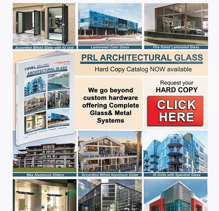 PRL's New 2018 Architectural Glass Catalog. Request Your Hard Copy Now While Supplies Last!