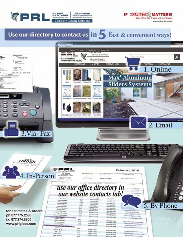 prl company directory 2017