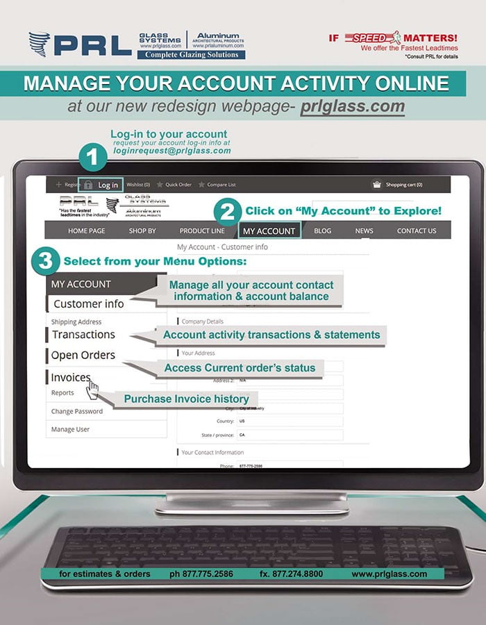 Managing your account online is now easier!