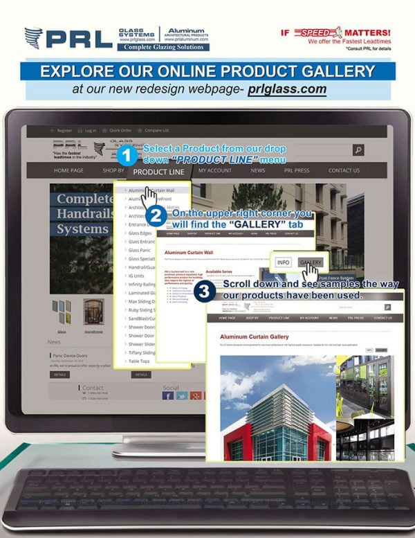 PRL's Product Galleries