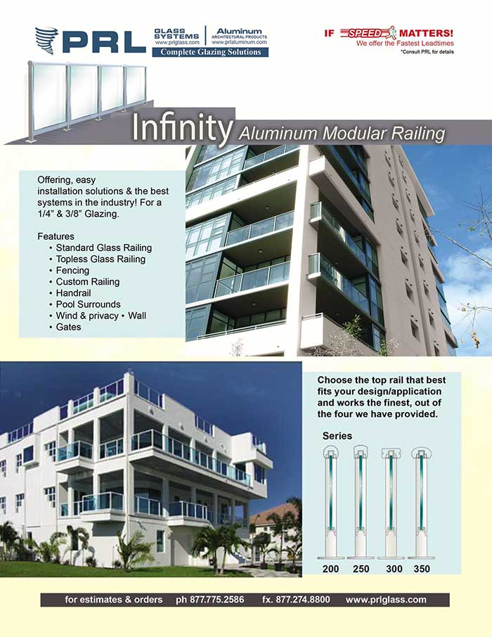 PRL's Infinity Guardrail System