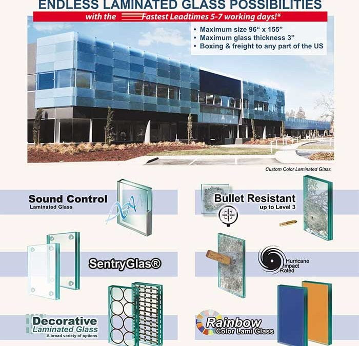 PRL Laminated Glass Endless Possibilities