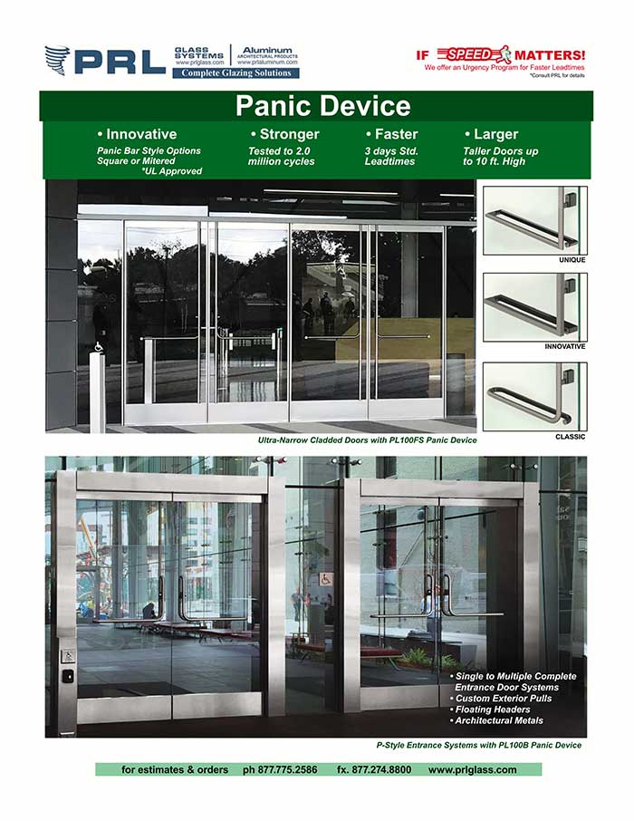 PRL Panic Devices Are All You Need for Captivating Emergency Exit Doors.