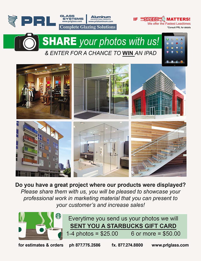 Share Your Photos With Us! You Could Win an iPad!