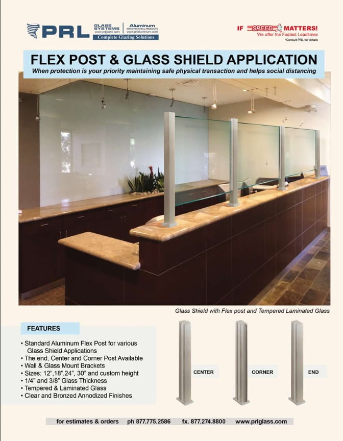 Protective Glass Shields!