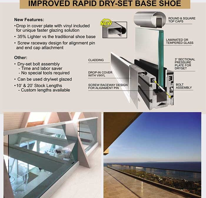 Rapid Dry Set Base Shoe the perfect solution for your next Handrail/Guardrail projects