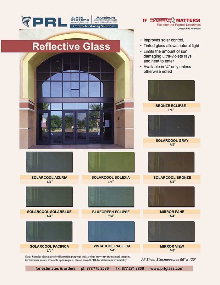 PRL Reflective Glass