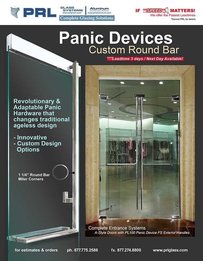 PRL's Round Bar Panic Devices