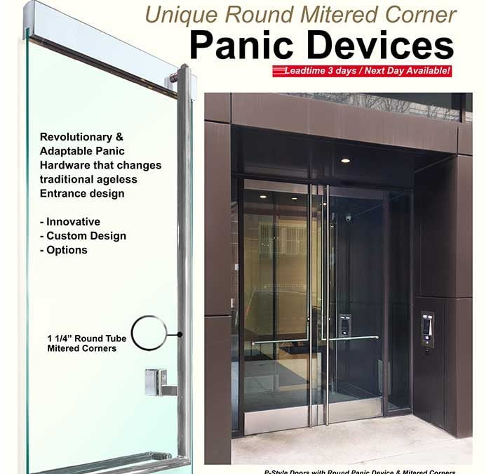 Panic Hardware For Glass Doors: Complete Glass Panic Door Devices Systems And Hardware