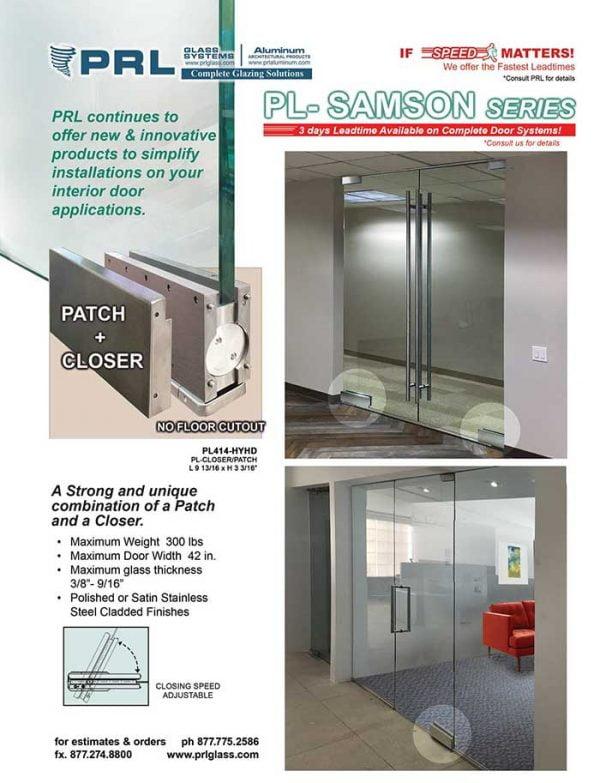Samson Hydraulic Door Patch Closer