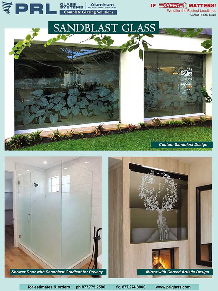 sandblasted glass designs
