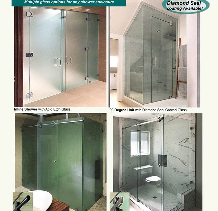 Create a Beautiful Shower & Bath with PRL's Shower Glass Types