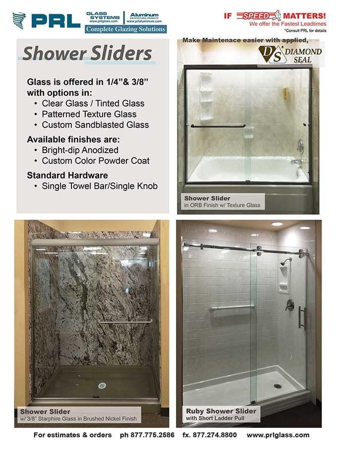 Ruby Sliding Shower Door System